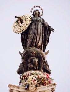 L'Immacolata Concezione in Piazza di Spagna
