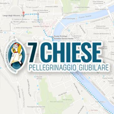 Pellegrinaggio Giubilare alle 7 Chiese, Roma 17-18 Settembre
